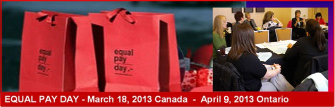 BPW Bowmanville Equal Pay Day Campaign