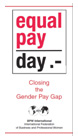 Equal Pay Day - Canging the Gender Pay Group